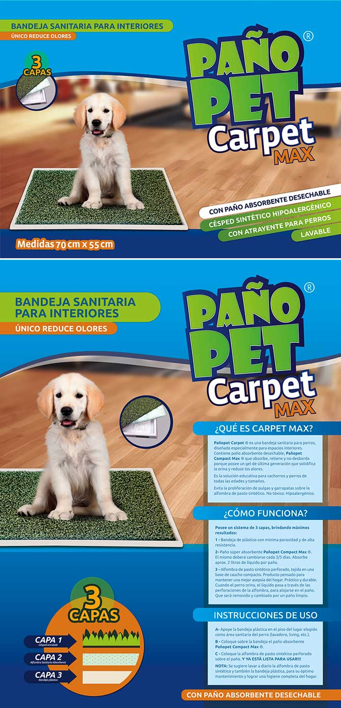 Pañopet Carpet Max
